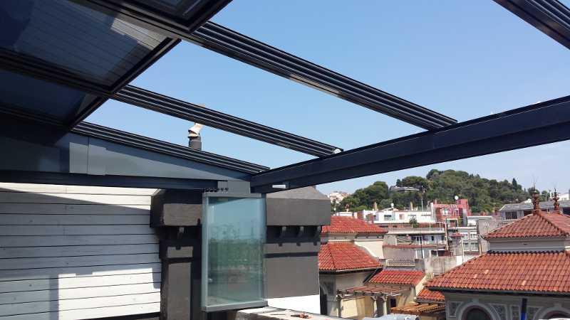 Cerramientos para terrazas en barcelona cristaleria aluspai for Cerramientos de cristal para terrazas