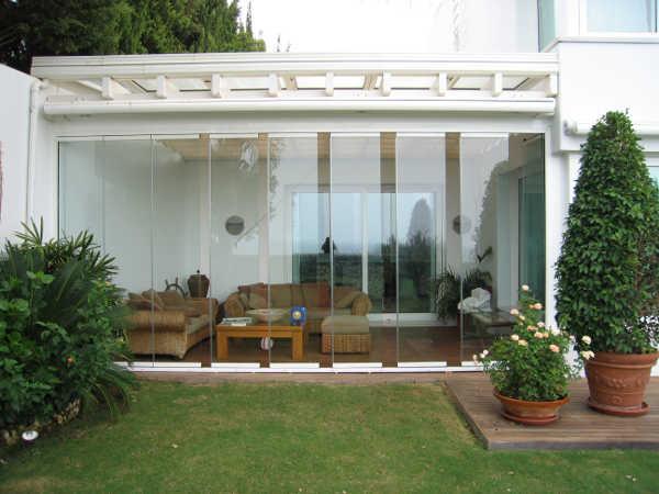 Puertas de cristal barcelona cristaleria aluspai for Puertas de vidrio para casas